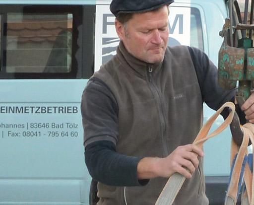 Form-Stein, Steinmetz in Bad Tölz